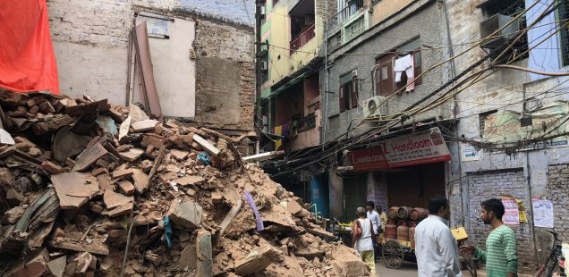 City Life - The Rubble of Our Ruins, Old Delhi