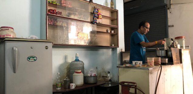 City Hangout - Sharma Tea Stall, Satyam Plaza, Gurgaon