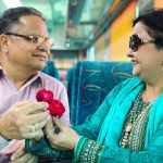 City Moment - Vermas' 32nd Wedding Anniversary, Ajmer-Delhi Shatabdi Express