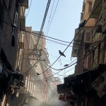 City Life - Cable Art, Old Delhi