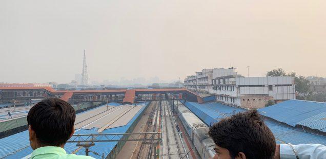 City Hangout - The Bridge Over the Railway Station, New Delhi