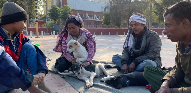 Home Sweet Home - Mintu & Family, Delhi Footpaths