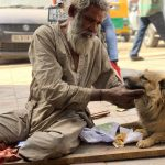 City Moment - Two Houseless Friends, Turkman Gate