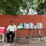 City Food - Kailash Kumar Sharma's Rajma Chawal Stall, Gurgaon