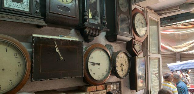 City Landmark - Hafizji's Old Clock Shop, Old Delhi
