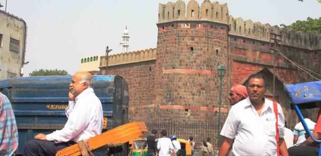 City Monument - Ajmeri Gate, Central Delhi