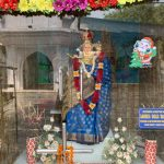 City Faith - Mother Mary in Sari, Khan Market