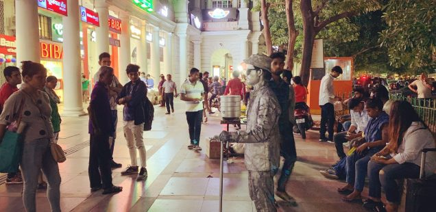 Mission Delhi - Dilip Singh, Connaught Place