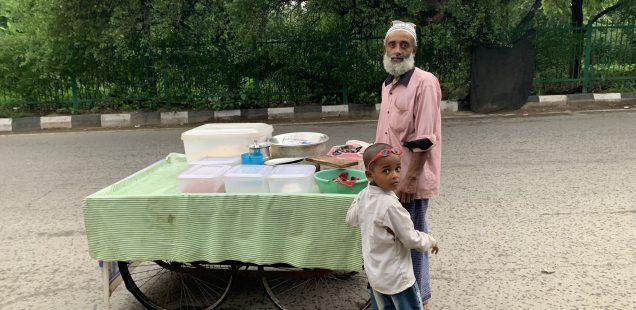 City Food - Muhammed Afroz's Bihari Jhaal Moori, Mathura Road