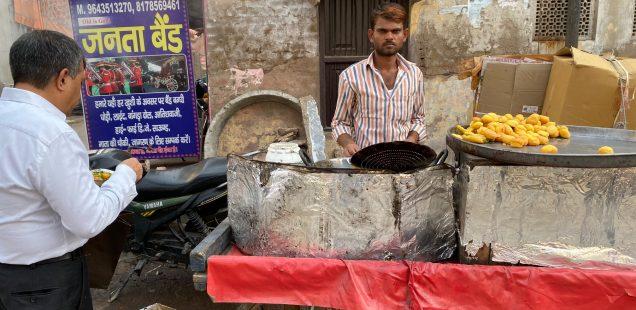 City Food - Anoj's Ram Laddu, Naya Bazar, Gurgaon