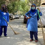 City Life - Women at Work, South Delhi
