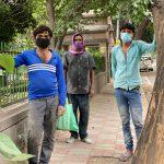 City Life - Three Masked Mistris, South Delhi