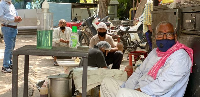 City Hangout - Peepal Tree & Sant Lal's Tea Stall, East of Kailash Enclave