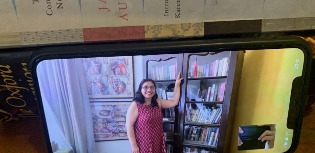 Home Sweet Home - Jayanti Pandey's Calcutta Bookcase, DLF Phase 4, Gurgaon