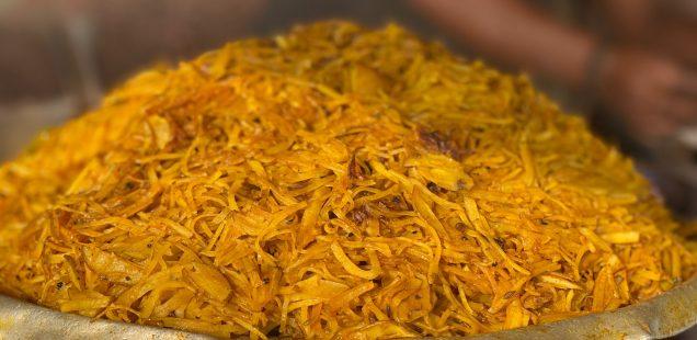 City Food - Aloo Bhaaji, Cotton Market