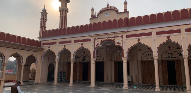 City Moment - Winter Sunset, Jama Masjid, Gurgaon