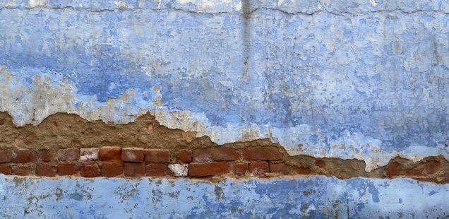 City Landmark - Blue Wall, Sheikh Kaleemullah Jehanabadi's Sufi Shrine