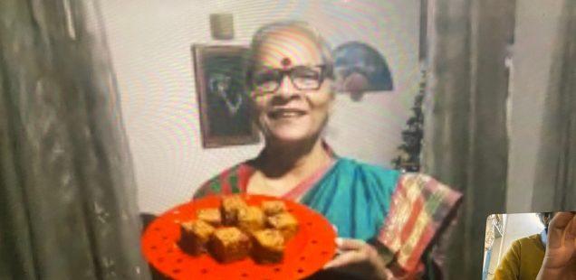 Julia Child in Delhi - Jolly Sabherwal's X-Mas Cake, Vasant Kunj