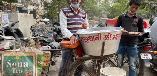 City Food - Rajasthani Dahi Bhalla, Gurgaon