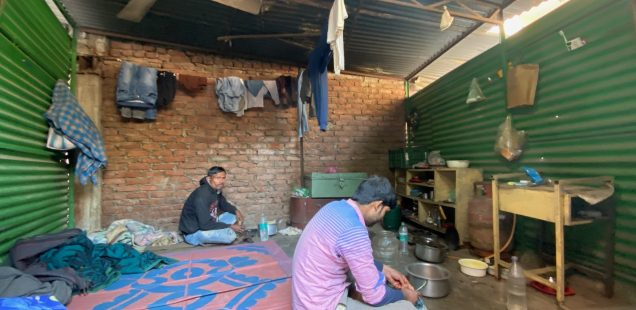 Home Sweet Home - A Mansion for Labourers, Mohalla Qabristan