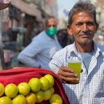 City Food - Raj Kumar's Jal Jeera Drink, Sadar Bazar