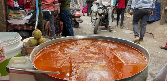 City Food - Nafees Khan's Sherbet Stall, Gali Suiwallan Street