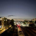 City Hangout - Rail Track Twilight, Barakhamba Flyover