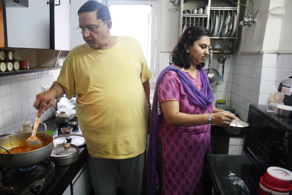 City Food - Julia Child Makes Badaam Pasanda in I.P. Extension