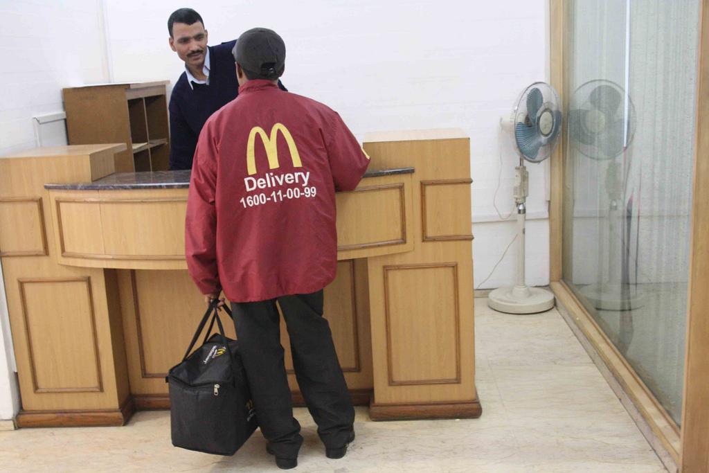 Photo Essay - Fast Food City, McDonald's Delhi