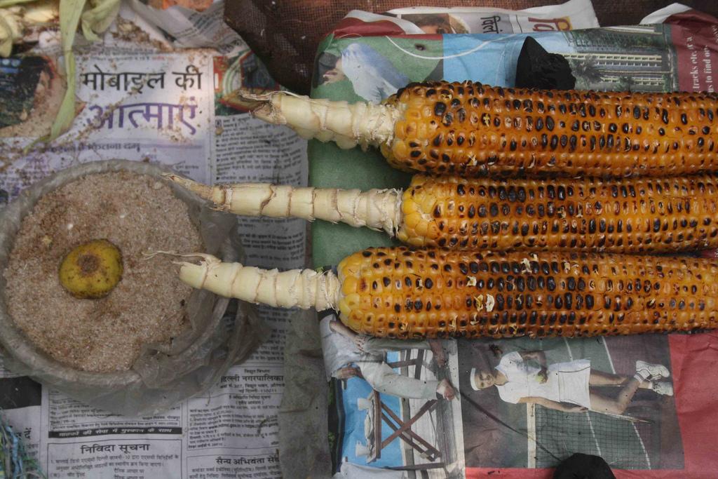 City Food – Bhutta, Delhi Streets