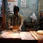 City Food - Julia Child Makes Rumali Roti in Nizamuddin Basti