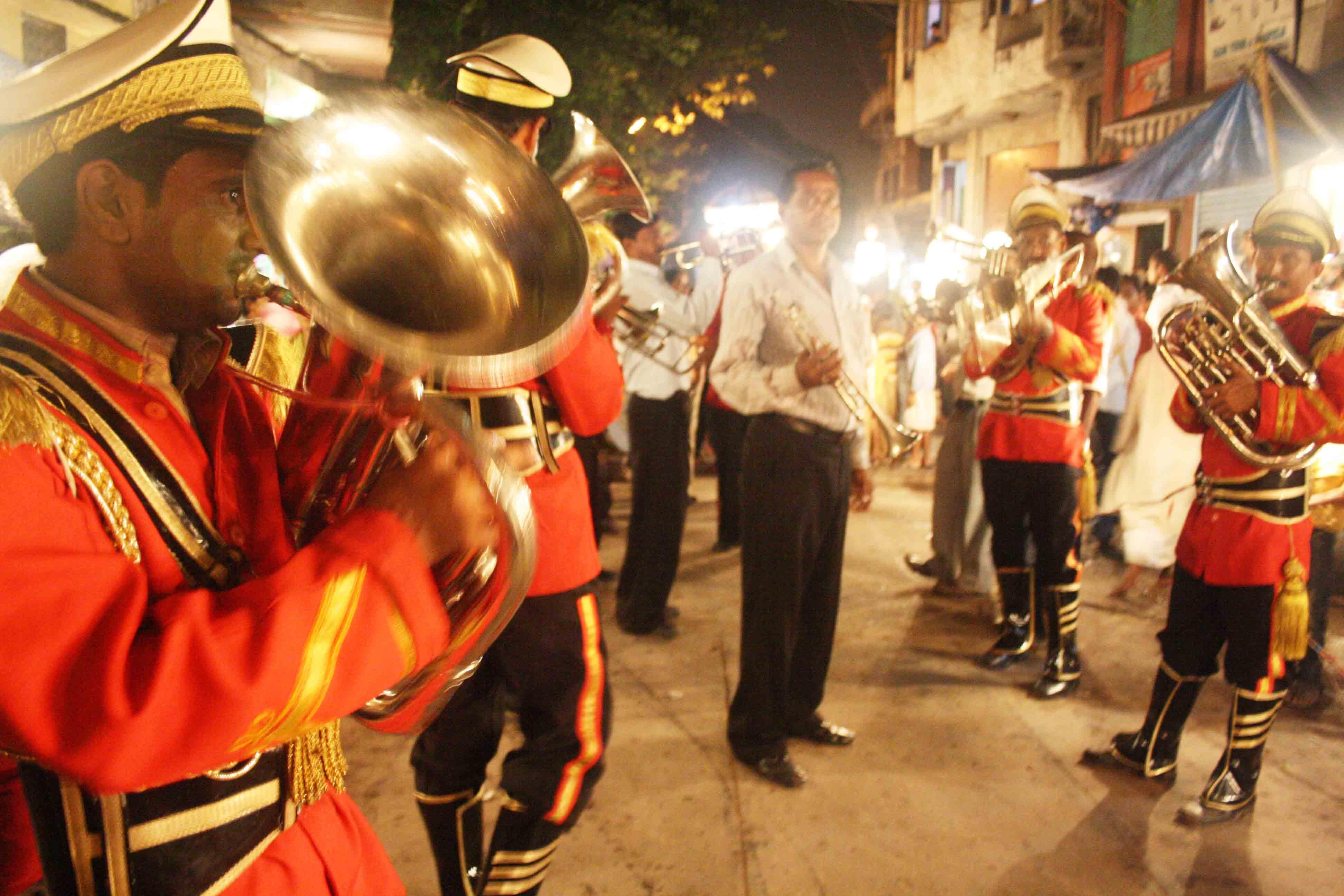 City Moment – The Bridegroom's Procession, Nizamuddin Basti