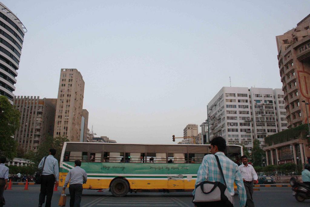 Photo Essay - Blueline Buses, Around Town