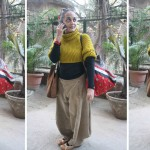 City Sighting - Arundhati Roy, Hauz Khas Village