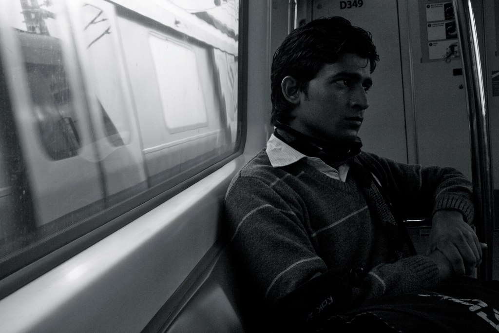 City Moment – The Shape of Sound, Delhi Metro