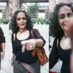 City Sighting – Arundhati Roy, India Habitat Center