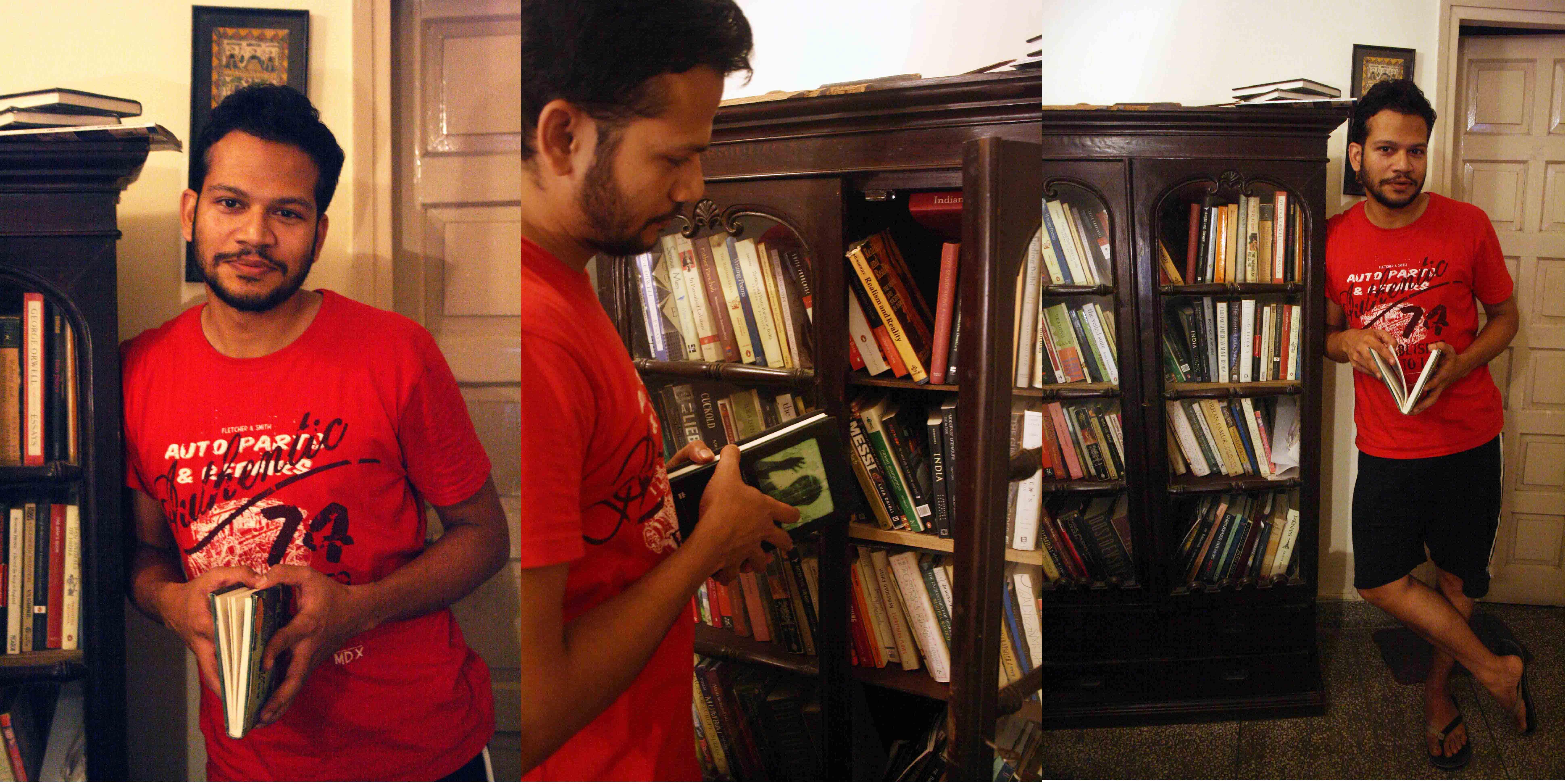 City Library - Chandrahas Choudhury's Books, Kalkaji
