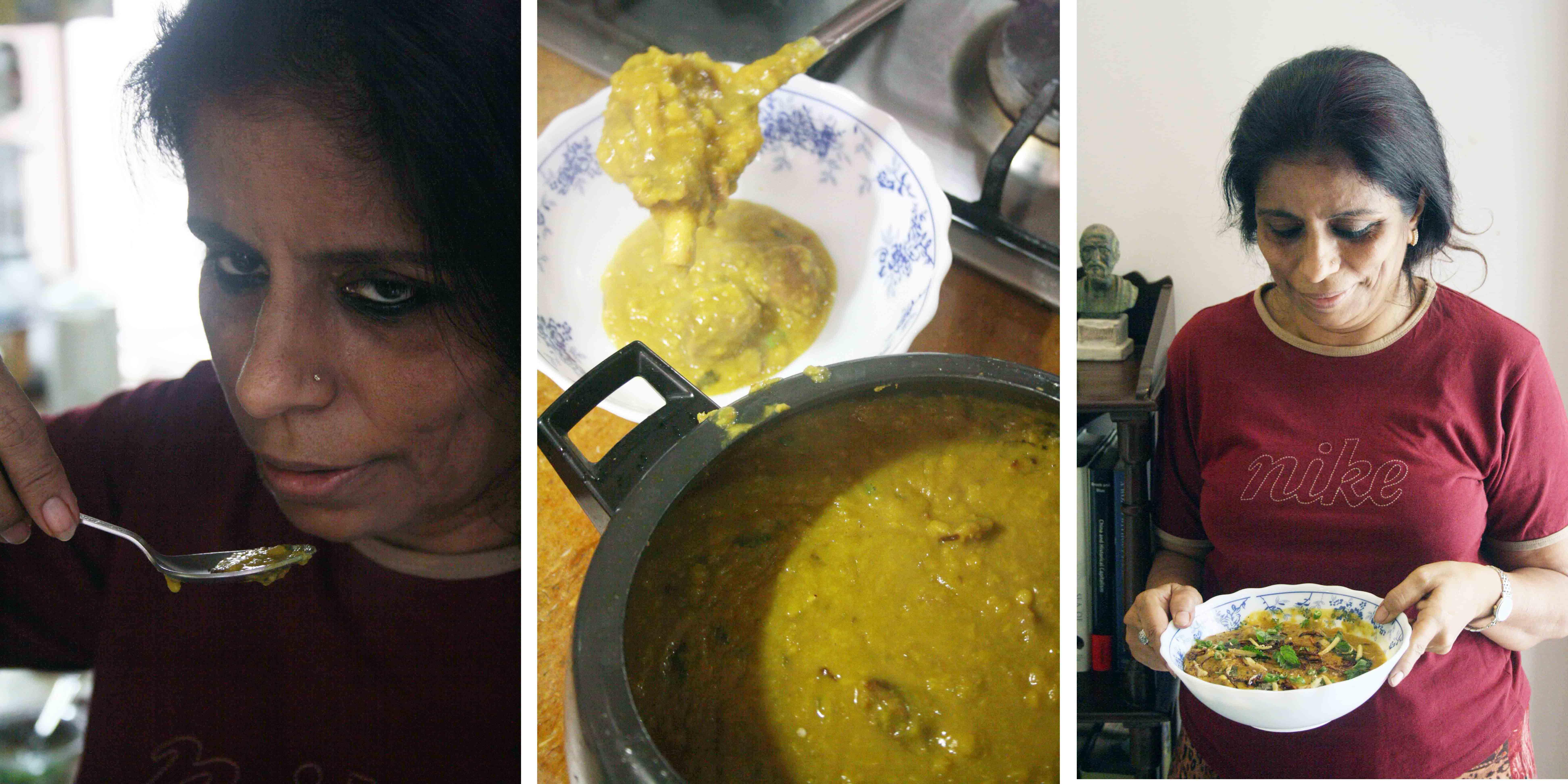 City Food – Julia Child Makes Chana Dal Gosht in Civil Lines