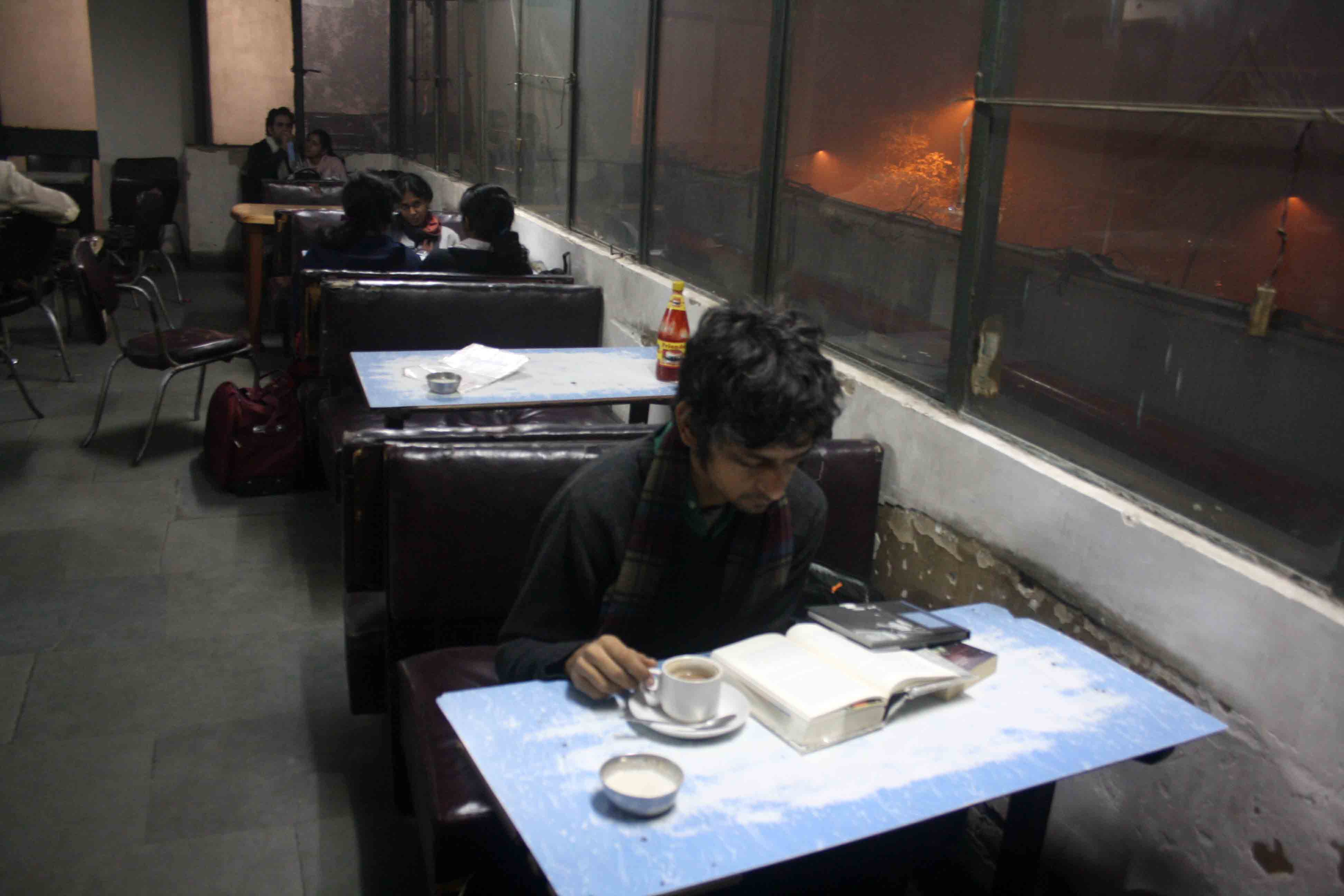 City Reading - The Delhi Proustians – II, Indian Coffee House