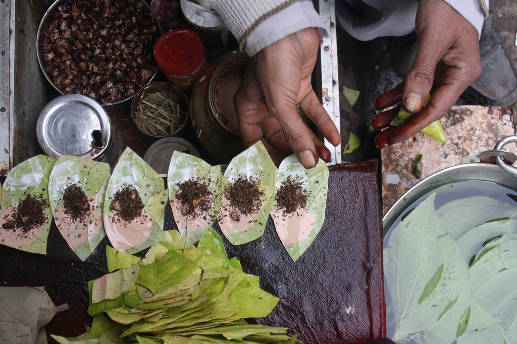 City Food - Paan, Around Town