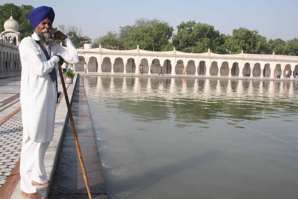 City Monument - Gurudwara Bangla Sahib, Central Delhi