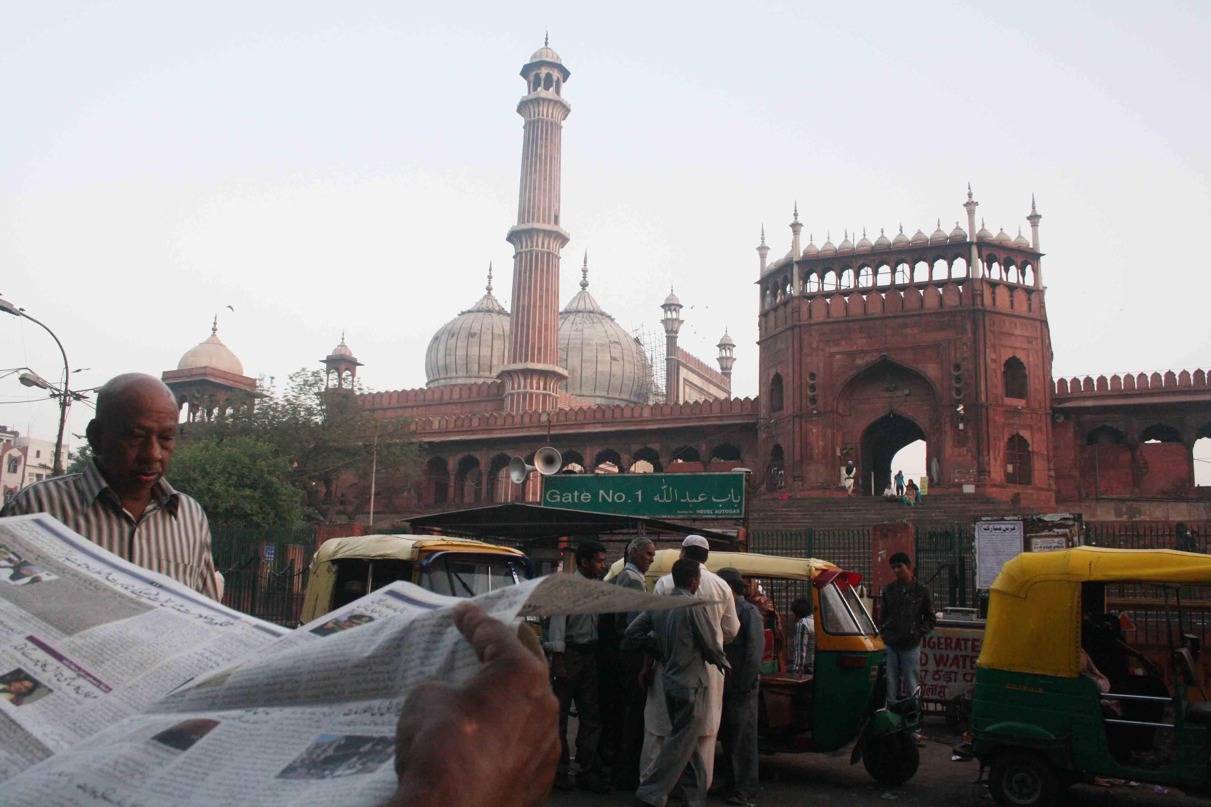 City Series – Stones of Jama Masjid – II, Shahjahanabad
