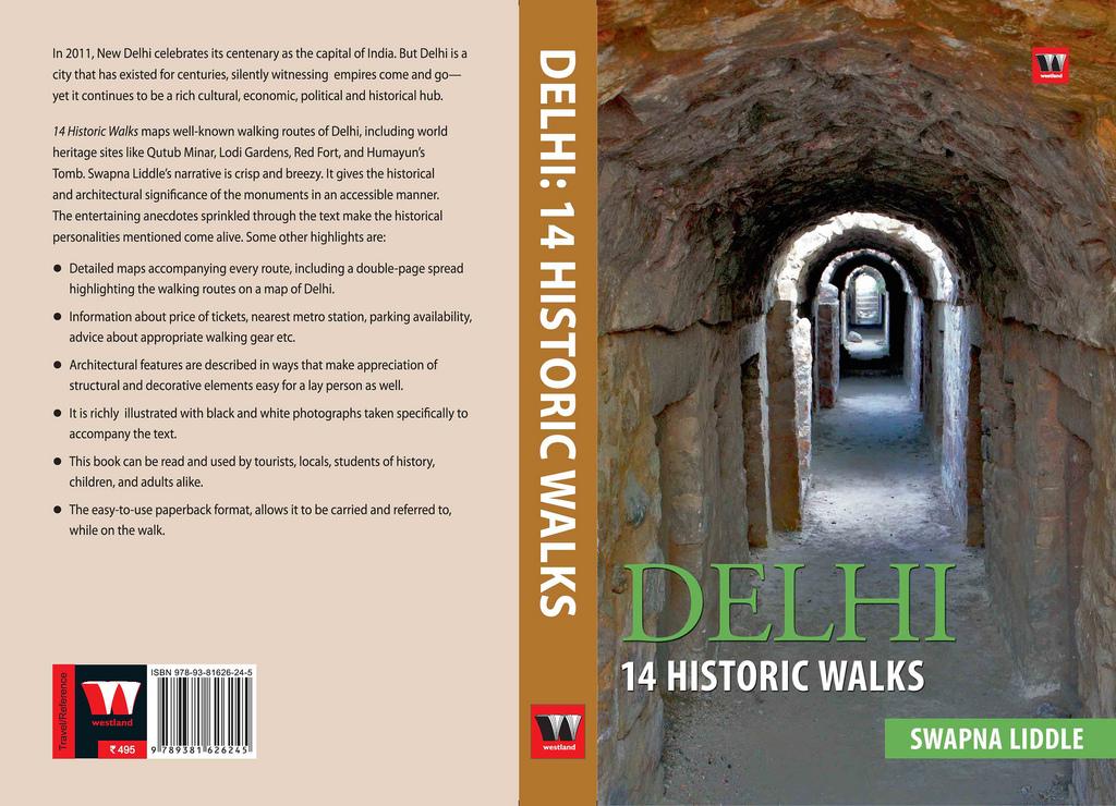 City Book – Delhi: 14 Historic Walks, Swapna Liddle