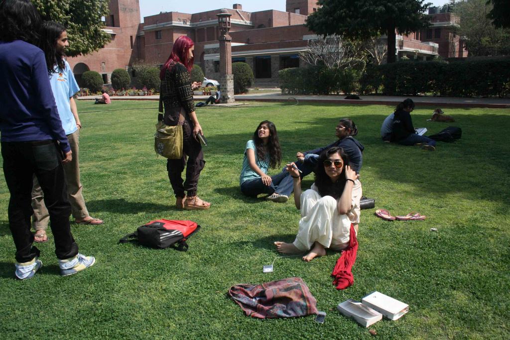 City Landmark - St Stephen's College, North Delhi