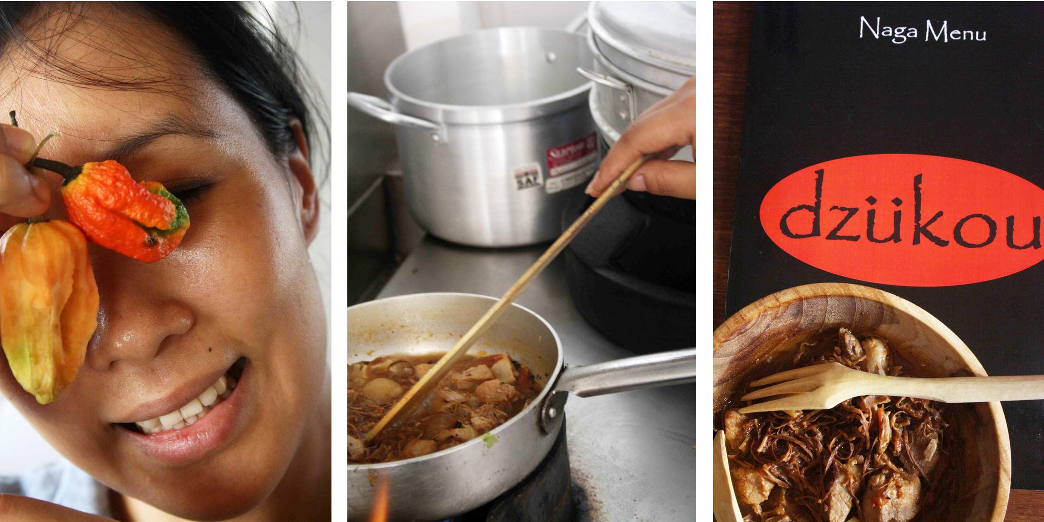 City Food – Julia Child Makes Esü in Hauz Khas Village