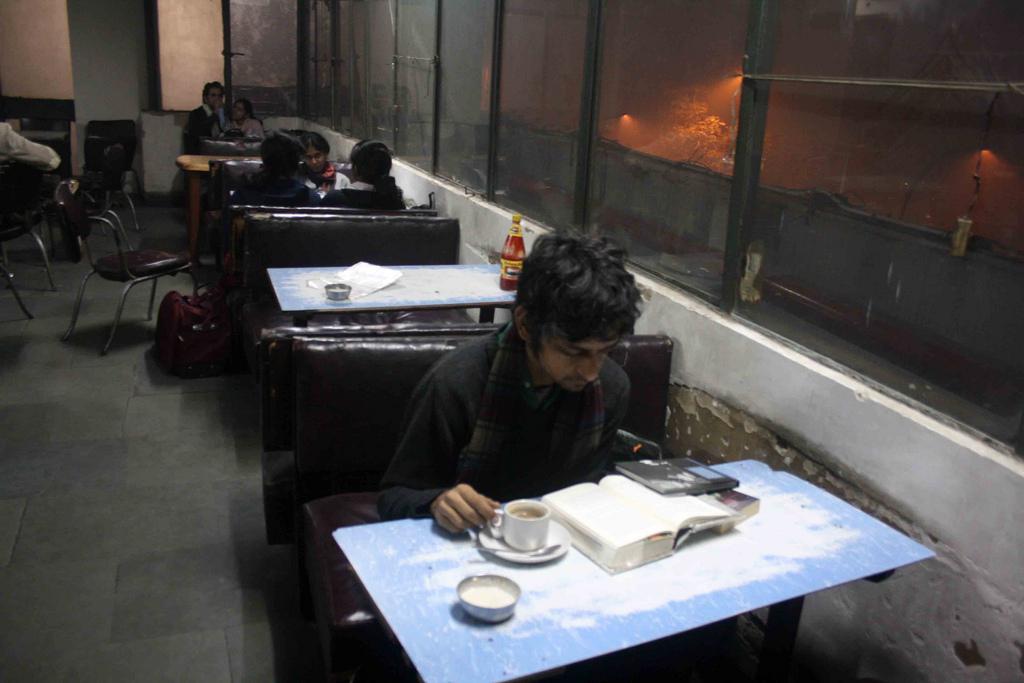 City Notice – The Delhi Proustians XXVIII, Indian Coffee House
