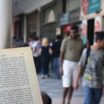 City Reading – The Delhi Proustians XXIX, Outside Wenger's