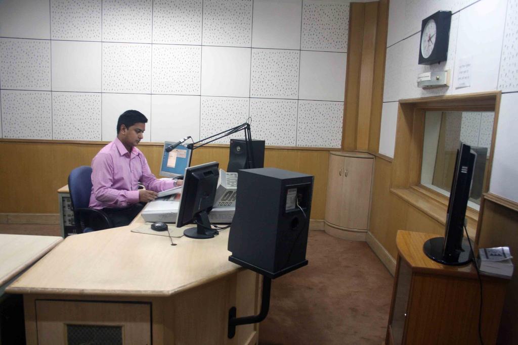 City Secret – Sanskrit News Bulletins, Akashvani Bhawan