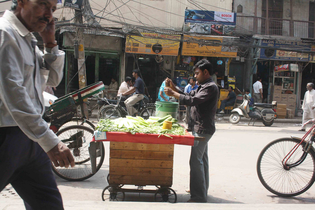 City Life - Street Vendors, Around Town
