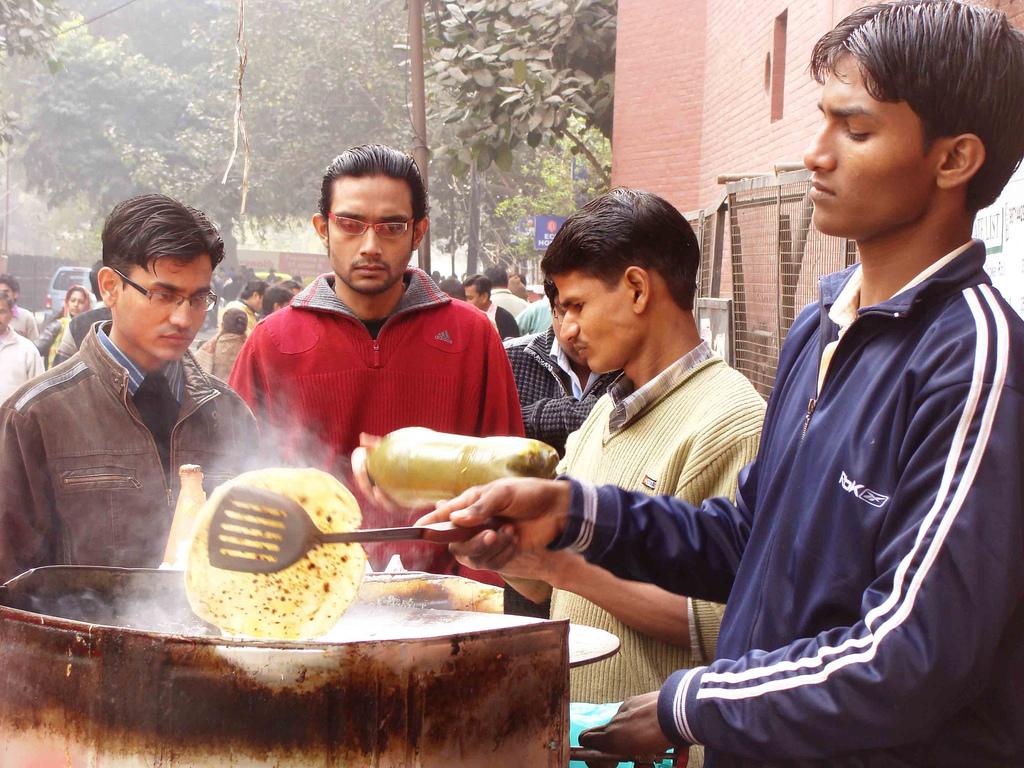 City Food - Paratha, Around Town